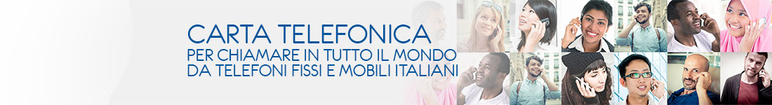 Phone All Card - Carta Telefonica Internazionale